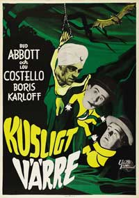 Abbott and Costello Meet the Killer, Boris Karloff - 27 x 40 Movie Poster - Style B