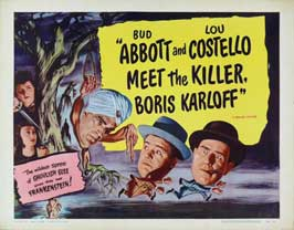Abbott and Costello Meet the Killer, Boris Karloff - 11 x 14 Movie Poster - Style C
