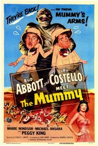 Abbott and Costello Meet the Mummy - 11 x 17 Movie Poster - Style A