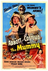 Abbott and Costello Meet the Mummy - 27 x 40 Movie Poster - Style A
