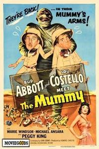 Abbott and Costello Meet the Mummy - 43 x 62 Movie Poster - Bus Shelter Style A