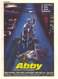 Abby - 11 x 17 Movie Poster - Italian Style B