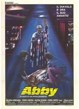 Abby - 27 x 40 Movie Poster - Italian Style B