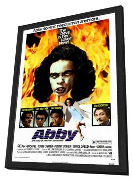 Abby - 27 x 40 Movie Poster - Style A - in Deluxe Wood Frame