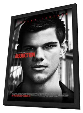 Abduction - 11 x 17 Movie Poster - Style A - in Deluxe Wood Frame