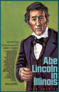 Abe Lincoln In Illinois (Broadway) - 27 x 40 Poster - Style A