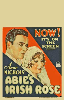 Abie's Irish Rose - 11 x 17 Movie Poster - Style A