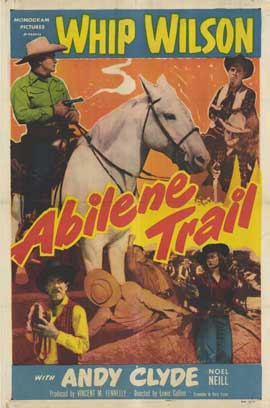 Abilene Trail - 27 x 40 Movie Poster - Style A