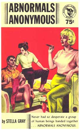Abnormals Anonymous - 11 x 17 Retro Book Cover Poster