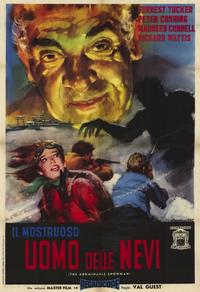 The Abominable Snowman - 11 x 17 Movie Poster - Spanish Style A