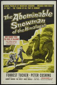 The Abominable Snowman - 43 x 62 Movie Poster - Bus Shelter Style A