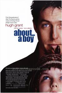 About a Boy - 43 x 62 Movie Poster - Bus Shelter Style A