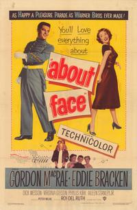 About Face - 43 x 62 Movie Poster - Bus Shelter Style A