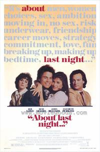 About Last Night. . . - 43 x 62 Movie Poster - Bus Shelter Style A