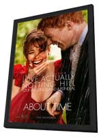 About Time - 11 x 17 Movie Poster - Style A - in Deluxe Wood Frame