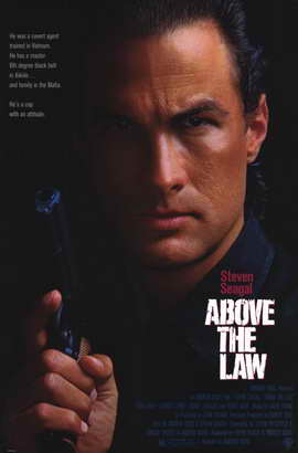 Above the Law - 11 x 17 Movie Poster - Style A