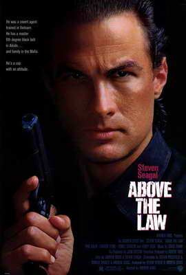 Above the Law - 27 x 40 Movie Poster - Style A