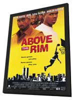 Above the Rim - 11 x 17 Movie Poster - Style B - in Deluxe Wood Frame