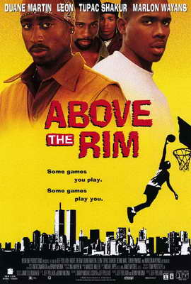 Above the Rim - 27 x 40 Movie Poster - Style B