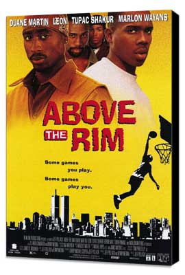 Above the Rim - 27 x 40 Movie Poster - Style B - Museum Wrapped Canvas