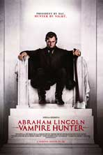 Abraham Lincoln: Vampire Hunter - DS 1 Sheet Movie Poster - Style B