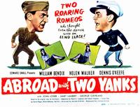 Abroad with Two Yanks - 11 x 14 Movie Poster - Style A