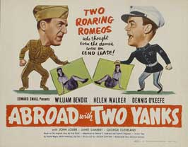 Abroad with Two Yanks - 22 x 28 Movie Poster - Half Sheet Style A
