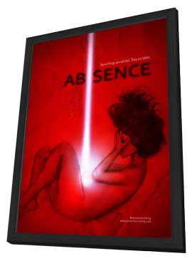 Absence - 11 x 17 Movie Poster - Style A - in Deluxe Wood Frame