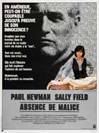 Absence of Malice - 11 x 17 Movie Poster - French Style A
