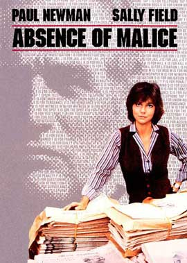 Absence of Malice - 27 x 40 Movie Poster - Style B