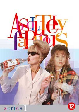 Absolutely Fabulous - 27 x 40 Movie Poster - Belgian Style C