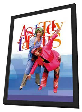 Absolutely Fabulous - 11 x 17 Movie Poster - Style A - in Deluxe Wood Frame