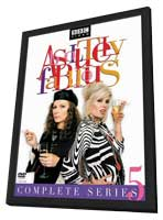 Absolutely Fabulous - 27 x 40 Movie Poster - Style B - in Deluxe Wood Frame