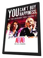 Absolutely Fabulous - 11 x 17 TV Poster - Style A - in Deluxe Wood Frame
