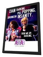 Absolutely Fabulous - 11 x 17 TV Poster - Style B - in Deluxe Wood Frame