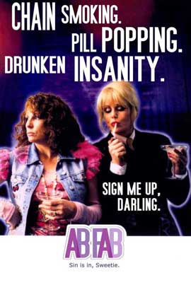 Absolutely Fabulous - 11 x 17 TV Poster - Style B