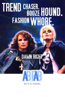 Absolutely Fabulous - 27 x 40 Movie Poster - Style C
