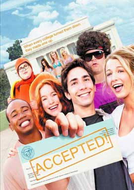 Accepted - 27 x 40 Movie Poster - UK Style A