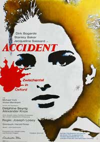 Accident - 11 x 17 Movie Poster - German Style A