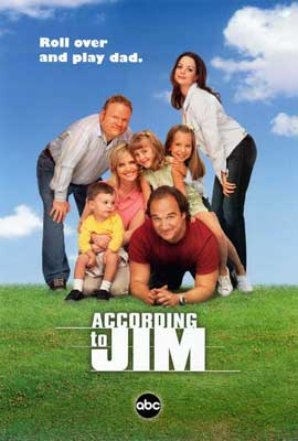 According to Jim - 27 x 40 TV Poster - Style B