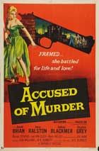 Accused of Murder - 11 x 17 Movie Poster - Style B