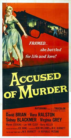 Accused of Murder - 11 x 17 Movie Poster - Style A