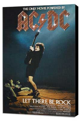 AC/DC: Let There Be Rock - 11 x 17 Movie Poster - Style A - Museum Wrapped Canvas