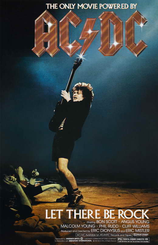 ac dc let there be rock movie posters from movie poster shop. Black Bedroom Furniture Sets. Home Design Ideas