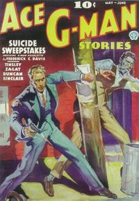 Ace G-Man Stories (Pulp) - 11 x 17 Pulp Poster - Style A