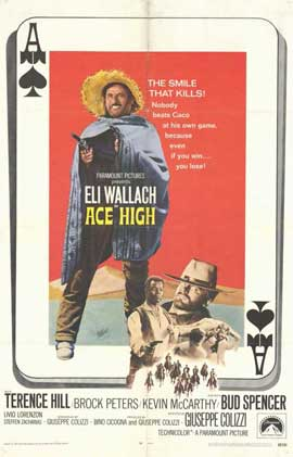 Ace High - 11 x 17 Movie Poster - Style A