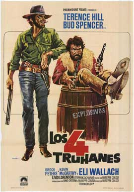 Ace High - 11 x 17 Movie Poster - Spanish Style A