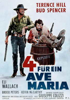 Ace High - 27 x 40 Movie Poster - German Style A
