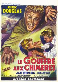 Ace in the Hole - 11 x 17 Movie Poster - Belgian Style A