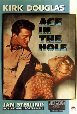 Ace in the Hole - 27 x 40 Movie Poster - Style B